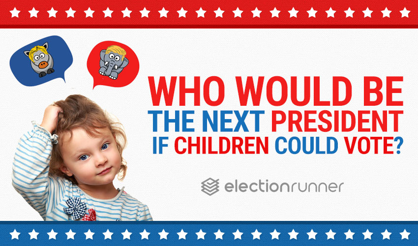 Who Would be the Next President if Children Could Vote?